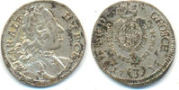 3 Kreuzer 1736 Bayern: Karl Albrecht, 1726-1745: vz(+)  30,00 EUR  zzgl. 2,50 EUR Versand
