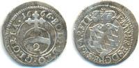 1/2 Batzen zu 2 Kreuzer 1666 Bayern: Ferdinand Maria, 1651-1679: ss  150,00 EUR  zzgl. 4,00 EUR Versand