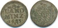 Landmünze zu 2 1/2 Kreuzer 1683 Bayern: Max. II. Emanuel, 1679-1726: ss  20,00 EUR  zzgl. 1,00 EUR Versand