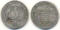 2/3 Taler mit Gegenstempel Köln 1692 Henneberg Ilmenau:  ss, selten !  1050,00 EUR  zzgl. 4,00 EUR Versand