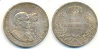 Doppeltaler 1872 Dresden SACHSEN Johann, 1854-1873.  Feine Tönung, vz-St  325,00 EUR  zzgl. 4,00 EUR Versand