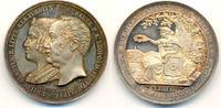 Silbermedaille auf s. 25.jähr. Regierung 1...