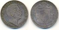 Doppeltaler 1845 Hohenzollern Hechingen: Friedrich Wilhelm Konstantin, ... 4500,00 EUR  zzgl. 4,00 EUR Versand