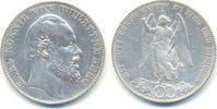 Siegestaler 1871 Württemberg: Karl, 1864-1891: ss  75,00 EUR  zzgl. 2,50 EUR Versand