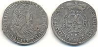 2/3 Taler 1676 Öttingen Grafschaft: Albrecht Ernst, 1659-83: ss, kl. Sc... 140,00 EUR  zzgl. 4,00 EUR Versand