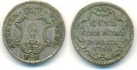 5 Kreuzer 1766 Augsburg Stadt:  ss-vz  40,00 EUR  zzgl. 2,50 EUR Versand