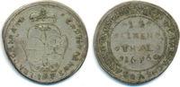 1/12 Taler 1696 IAP Brandenburg Bayreuth: Christian Ernst, 1655-1712: ss  40,00 EUR  zzgl. 2,50 EUR Versand