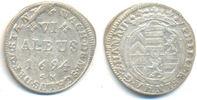 6 Albus 1694 SM Hanau Lichtenberg: Philipp Reinhard, 1685-1712: ss-vz  60,00 EUR  zzgl. 2,50 EUR Versand