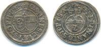 1/2 Batzen zu 2 Kreuzer o.J. Eichstätt Bistum: Johann Christoph von Wes... 90,00 EUR  zzgl. 2,50 EUR Versand