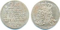 1/24 Taler Magdeburg 1753 F Preussen: Friedrich II, 1740-86: Stempelfri... 50,00 EUR  zzgl. 2,50 EUR Versand