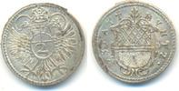 1/2 Batzen zu 2 Kreuzer o.J., ab 1692 Ulm Stadt:  vz-st  75,00 EUR  zzgl. 2,50 EUR Versand
