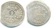 Silberkreuzer 1624 Ulm Stadt:  ss, starke Zainende  22,00 EUR  zzgl. 2,50 EUR Versand
