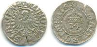 Goslar Stadt: 1/24 Taler 1618 ss+, Schrötlingsfehler  45,00 EUR  zzgl. 2,50 EUR Versand