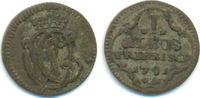 1 Albus 1791 Trier Erzbistum Clemens Wenzel von Sachsen, 1768-1794: ss  20,00 EUR  zzgl. 1,00 EUR Versand