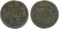 1/48 Taler 1784 C Erfurt Bistum: Friedrich Karl Joseph, 1774-1802: ss  25,00 EUR  zzgl. 1,00 EUR Versand