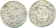 Salzburg Erzbistum: 1/2 Batzen zu 2 Kreuzer 1694 stgl, Prachtstück !! Jo... 50,00 EUR  zzgl. 2,50 EUR Versand