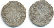 Brandenburg Ansbach: 4 Kreuzer 1696 ss Georg Friedrich II, 1692-1703: 30,00 EUR  zzgl. 2,50 EUR Versand