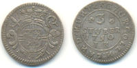 3 Stüber 1750 Köln Erzbistum: Clemens August von Bayern, 1723-1761: ss  30,00 EUR  zzgl. 2,50 EUR Versand