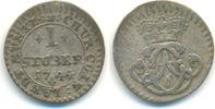 1 Stüber 1744 Köln Erzbistum: Clemens August von Bayern, 1723-1761: ss  20,00 EUR  zzgl. 1,00 EUR Versand