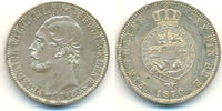 Taler 1870 A Mecklenburg Strelitz: Friedrich Wilhelm, 1860-1904: vz-st,... 250,00 EUR  zzgl. 4,00 EUR Versand