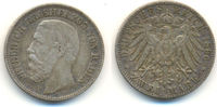 2 Mark 1896 G Baden: Friedrich I, 1856-1907: ss  75,00 EUR  zzgl. 2,50 EUR Versand