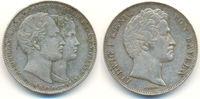 Doppeltaler Vermählung 1842 Bayern: Ludwig I, 1825-48: ss  250,00 EUR  zzgl. 4,00 EUR Versand
