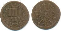4 Pfennig 1703 Rietberg Grafschaft: Max. Ulrich, 1699-1746: ss  40,00 EUR  zzgl. 2,50 EUR Versand