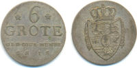 6 Grote 1818 Oldenburg Grafschaft: Peter Friedrich Wilhelm, 1785-1823: ss  70,00 EUR  zzgl. 2,50 EUR Versand