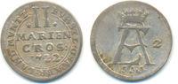 2 Mariengroschen 1722 Osnabrück Bistum: Ernst August, 1716-1728: ss  45,00 EUR  zzgl. 2,50 EUR Versand