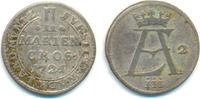 2 Mariengroschen 1721 Osnabrück Bistum: Ernst August, 1716-1728: ss  45,00 EUR  zzgl. 2,50 EUR Versand