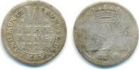 6 Pfennig 1721 Osnabrück Bistum: Ernst August, 1716-1728: ss-s  25,00 EUR  zzgl. 1,00 EUR Versand