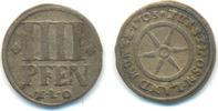 4 Pfennig 1703 Osnabrück Bistum: Karl von Lothringen, 1698-1715: ss  40,00 EUR  zzgl. 2,50 EUR Versand