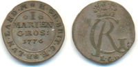 1 Mariengroschen 1776 LCR Braunschweig Calenberg Hannover: Georg III, 1... 125,00 EUR  zzgl. 4,00 EUR Versand