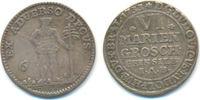 6 Mariengroschen 1733 Braunschweig Wolfenbüttel: Ludwig Rudolph, 1731-1... 50,00 EUR  zzgl. 2,50 EUR Versand