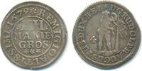 4 Mariengroschen 1679 Braunschweig Wolfenbüttel: Rudolph August, 1666-1... 40,00 EUR  zzgl. 2,50 EUR Versand