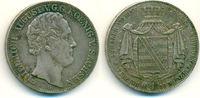 Doppeltaler 1840 G Sachsen: Friedrich August II, 1836-1854: ss+  350,00 EUR  zzgl. 4,00 EUR Versand