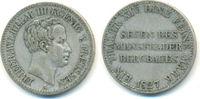 Taler 1827 A Preussen: Friedrich Wilhelm III, 1797-1840: ss+, selten !  100,00 EUR  zzgl. 2,50 EUR Versand