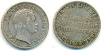 Taler 1842 A Preussen: Friedrich Wilhelm IV., 1840-1861: vz  140,00 EUR  zzgl. 4,00 EUR Versand