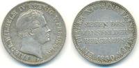 Taler 1850 A Preussen: Friedrich Wilhelm IV., 1840-1861: ss  80,00 EUR  zzgl. 2,50 EUR Versand
