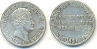 Ausbeutetaler 1831 A Preussen: Friedrich Wilhelm III, 1797-1840: ss+  85,00 EUR  zzgl. 2,50 EUR Versand