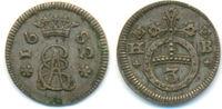 3 Pfennig 1682 HB Braunschweig Calenberg Hannover: Ernst August, 1679-1... 75,00 EUR  zzgl. 2,50 EUR Versand