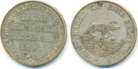 Ausbeutetaler 1855 A Anhalt Bernburg: Alexander Carl, 1834-1863: vz  120,00 EUR  zzgl. 4,00 EUR Versand