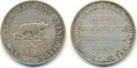 Ausbeutetaler 1846 A Anhalt Bernburg: Alexander Carl, 1834-1863: vz  130,00 EUR  zzgl. 4,00 EUR Versand