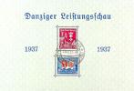 Danzig Danziger Leistungsschau-Blockausgabe mit Plattenfehler 'rechte... 109,00 EUR  zzgl. 5,00 EUR Versand