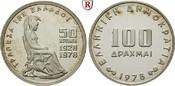 100 Drachmen 1976 Griechenland Republik, seit 1973 PP