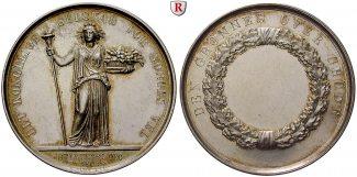 Norwegen Silbermedaille 1809 f.st Frederik...