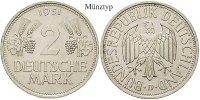 2 DM 1951 F Klein- und Kursmünzen 2 DM 1951, F, Cu-Ni. J.386. ss  30,00 EUR  zzgl. 6,50 EUR Versand