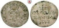 2 1/2 Kreuzer 1776 Brandenburg in Franken Brandenburg-Ansbach, Christia... 30,00 EUR inkl. gesetzl. MwSt., zzgl. 6,50 EUR Versand