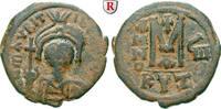 Follis Jahr 8 = 589-590 Byzanz Mauricius Tiberius, 582-602 ss+, schwarz... 70,00 EUR inkl. gesetzl. MwSt., zzgl. 6,50 EUR Versand
