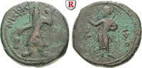 Bronze 130-158 Baktrien und Indien Kuschan, Kanishka I., 130-158 s-ss  160,00 EUR